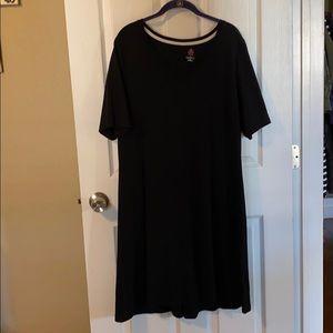 Isaac Mazrahi Pima Cotton T-shirt Dress